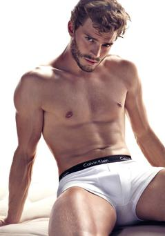 Jamie Dornan for Calvin Klein underwear in his modelling days