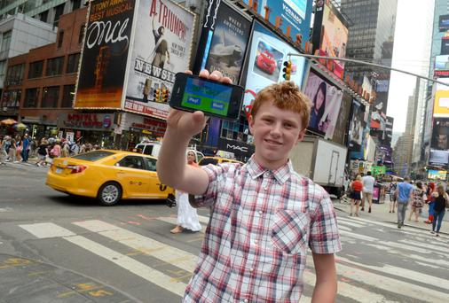 Ireland's youngest entrepreneur, 14 year old Jordan Casey