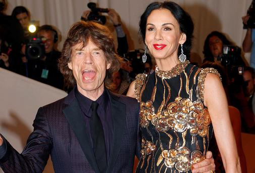 Scott had been dating Rolling Stones frontman Mick Jagger for 13 years
