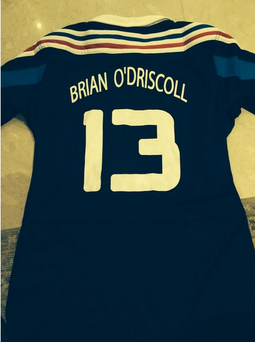France's tribute to Brian O'Driscoll