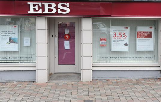 EBS has written off almost €200,000 from a couple's mortgage