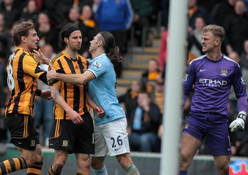 George Boyd will serve a three-match suspension for his incident with Joe Hart.