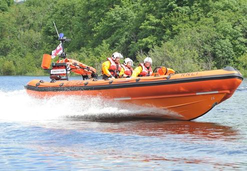 A Lough Ree RNLI lifeboat. Photo: RNLI