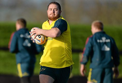 Alan Cotter has taken a roundabout route into the Munster set-up