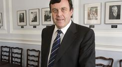 Brian Lenihan was Finance Minister at the time of the bank rescue