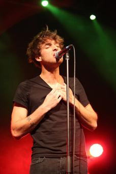 Paolo Nutini performs at The Olympia on March 20, 2014 in Dublin, Ireland.