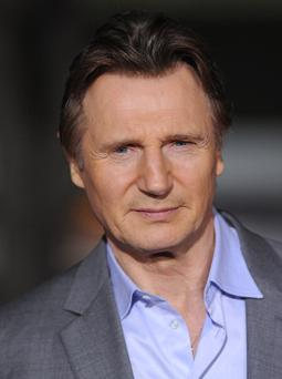 Actor Liam Neeson arrives at the Los Angeles premiere of 'Non-Stop' at Regency Village Theatre on February 24, 2014 in Westwood, California. (Photo by Axelle/Bauer-Griffin/FilmMagic)