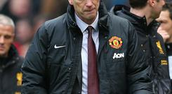 Manchester United manager David Moyes. Photo by Alex Livesey/Getty Images