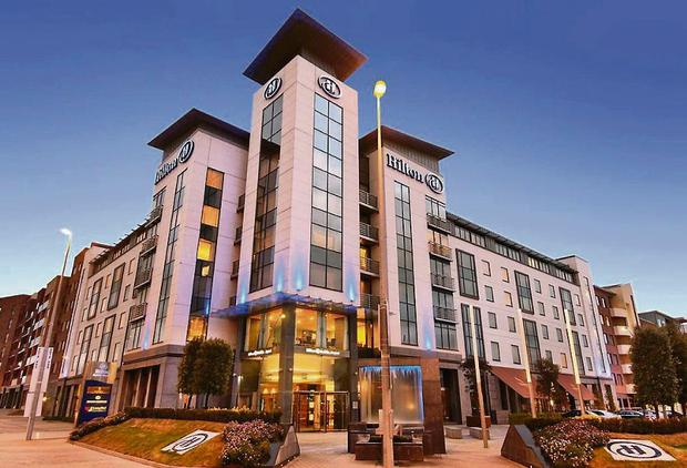 Hilton Hotel at Charlemont Place in Dublin