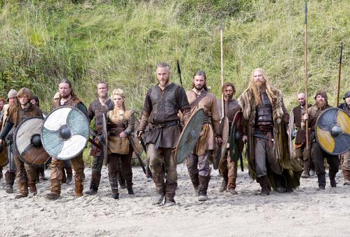 VIKINGS: The TV version, as opposed to today's corporate raiders
