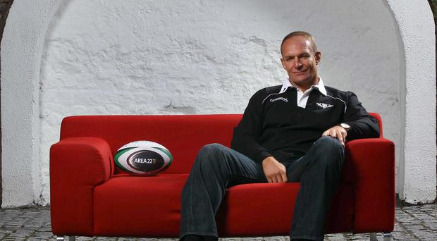 South African rugby hero Francois Pienaar. Photo: INPHO/Billy Stickland