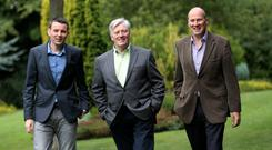 Chris Donoghue, Pat Kenny and Ivan Yates
