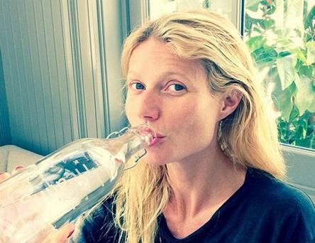 Gwyneth Paltrow did her best to promote the effort, posting a make-up free selfie on Instagram.