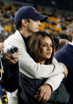 According to reports, Mila Kunis is pregnant with Ashton Kutchers child. (Photo by Justin K. Aller/Getty Images)