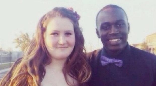 The 16-year-old couple were on their way to a high school dance when the accident happened