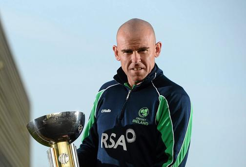 Ireland's women's cricket coach, Trent Johnston