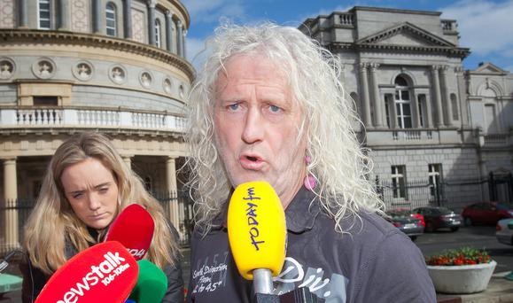 Independent TD Mick Wallace at Leinster House, Dublin. Photo: Gareth Chaney Collins
