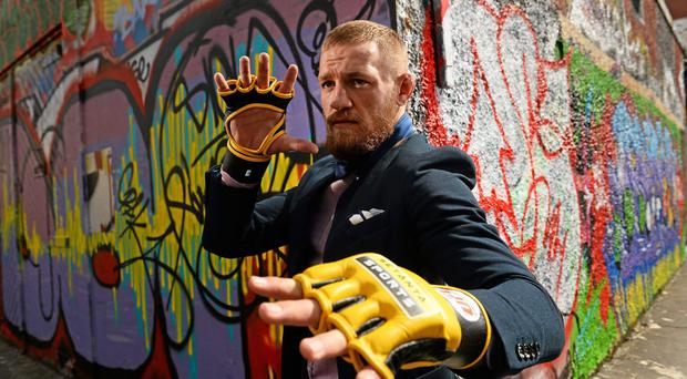 UFC fighter Conor 'The Notorious' McGregor