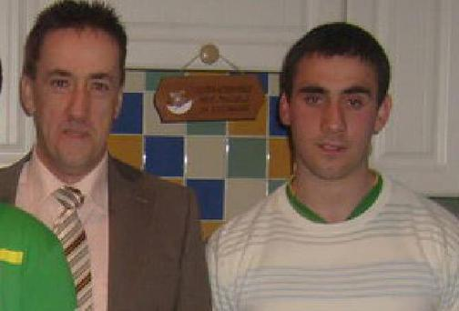 Darry McDaid and his dad Martin McGrath. (Picture: NW Newspix)