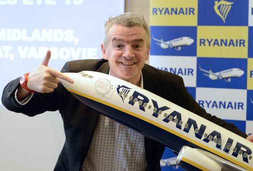 Chief executive officer (CEO) of Ryanair, Michael O'Leary; the airline has retained its lead over other low-cost carriers