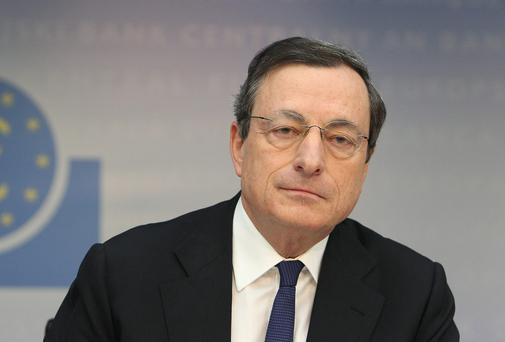 Mario Draghi, President of the European Central Bank, which didn't cut interest rates despite inflation hitting a four-year low