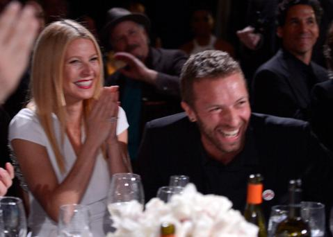 Gwyneth Paltrow and Chris Martin attend the third annual Sean Penn & Friends HELP HAITI HOME Gala benefiting J/P HRO presented by Giorgio Armani at Montage Beverly Hills on January 11, 2014 in California. Photo: Kevin Mazur/Getty Images for J/P Haitian Relief Organization