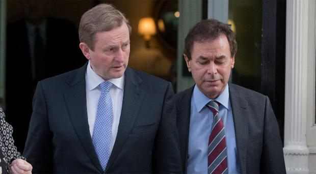 Taoiseach Enda Kenny and Justice MInister Alan Shatter
