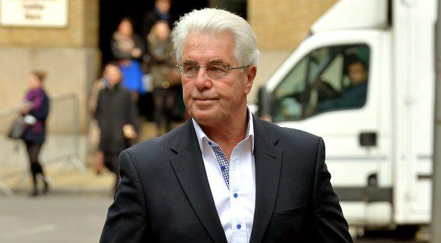 Max Clifford arrives at Southwark Crown Court where he is accused of a total of 11 counts of indecent assault against seven women and girls
