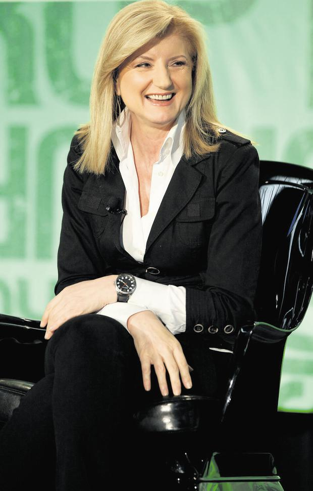 Arianna Huffington, co-founder of The Huffington Post.