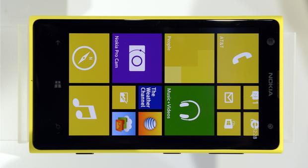 The Nokia Lumia 1020, a Windows Phone with a 41-megapixel camera.
