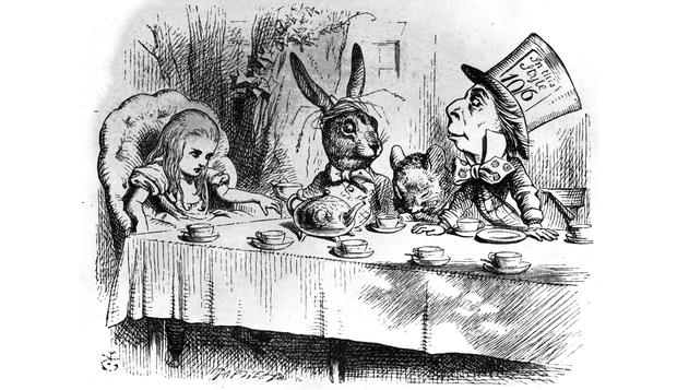 A party in Wonderland .