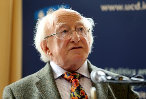Michael D. Higgins.