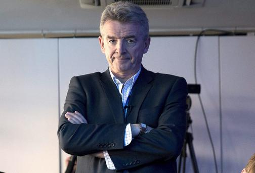 Michael O'Leary, chief executive officer of Ryanair Holdings Plc.