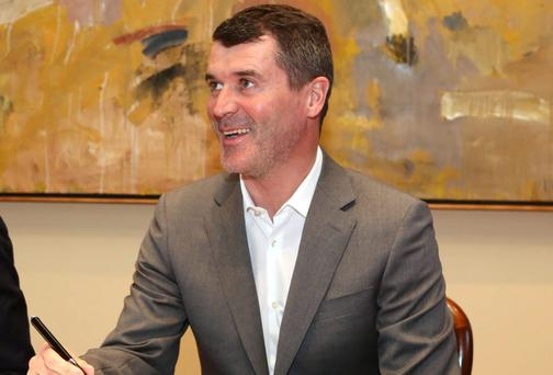 Roy Keane Photo: Donagh Glavin