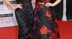 Grainne and Sile Seoige at the VIP Style Awards