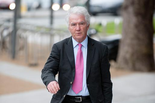 Former Anglo Chairman Sean FitzPatrick. Picture: Collins Courts