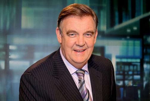 RTE newsreader Bryan Dobson: cleared of seven complaints