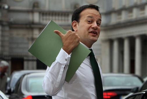 Leo Varadkar has distinguished himself by refusing to keep quiet. Photo: Tom Burke