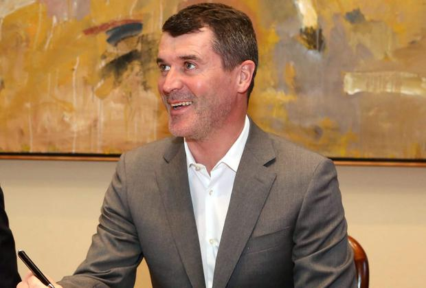 Roy Keane was in relaxed mood back on home turf as his Q&A session helped to raise money for Cork City