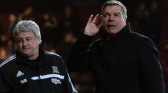 West Ham boss Sam Allardyce criticised his side's supporters after their boos at the final whistle of Wednesday night's win against Hull City