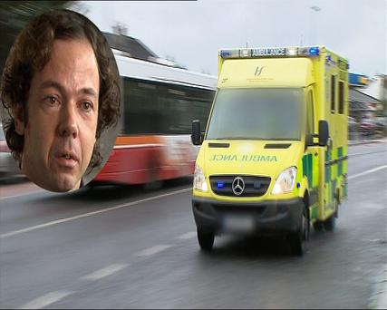 Dylan Berry on Prime Time – The Ambulance Service Uncovered