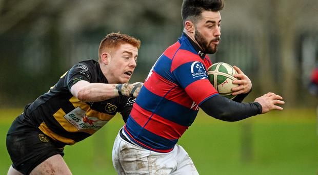 Clontarf's Michael McGrath - the Ulster Bank League's top try scorer - has proven he is a deadly finisher