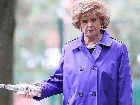 Barbara Knox in a scene from Coronation Street