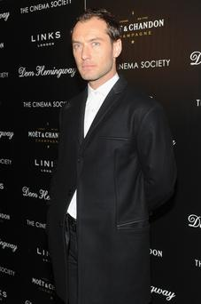 Actor Jude Law attends the Fox Searchlight Pictures'