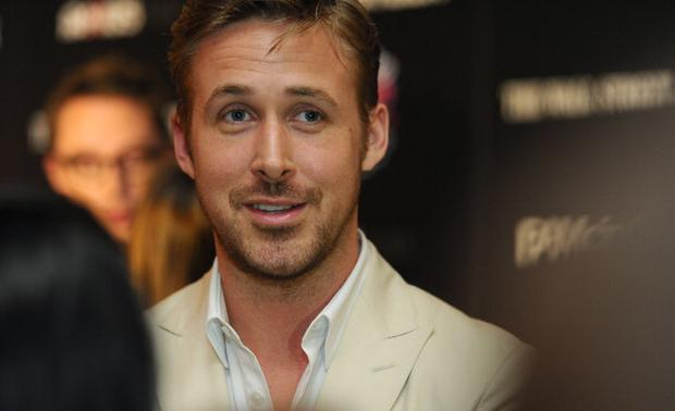 A man's best friend - Ryan Gosling 'Skypes' his dog George when they're apart (Photo by Rommel Demano/WireImage)
