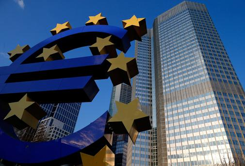 The eurozone economy grew much less than expected at the start of the year