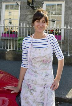 Sarah Harty, owner of the Gallery Cafe, Gort, Co Galway. Picture: Andrew Downes