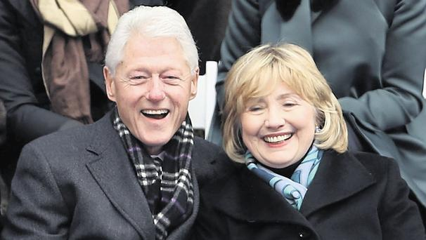 GENERATION X MARKS THE SPOT: Could Bill and Hill be laughing at the generation behind them?