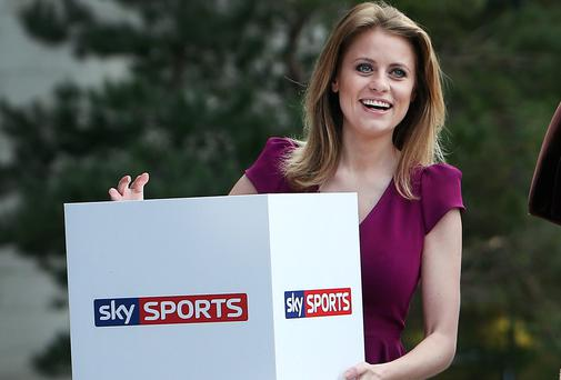 Rachel Wyse of Sky Sports News