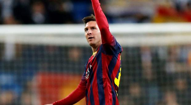 Barcelona's Lionel Messi joined the Spanish club as a teenager